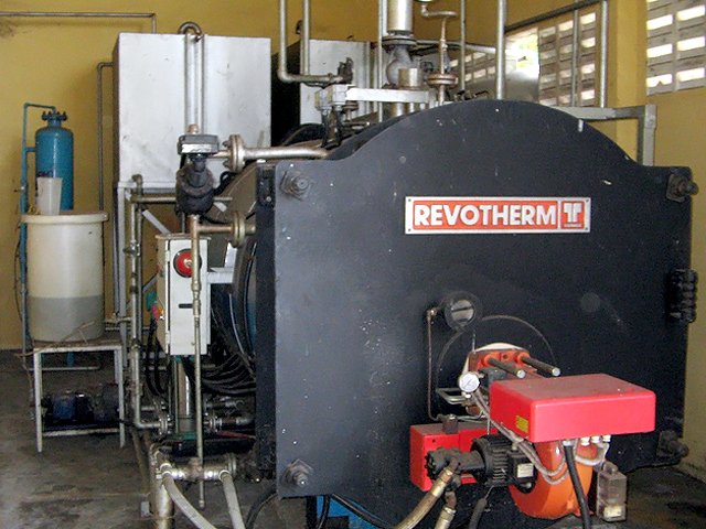 Packaged Oil Fired Boiler