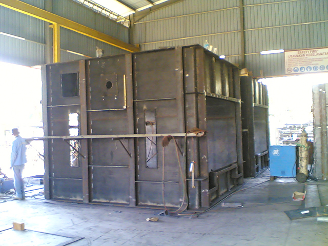 Combustion Furnace Chamber